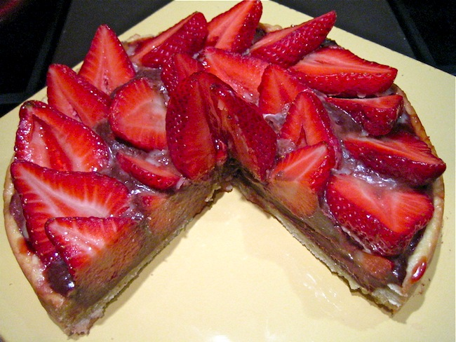 Strawberry Chocolate Tarty Pie