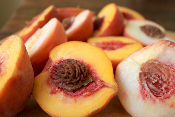 """peach halves"""