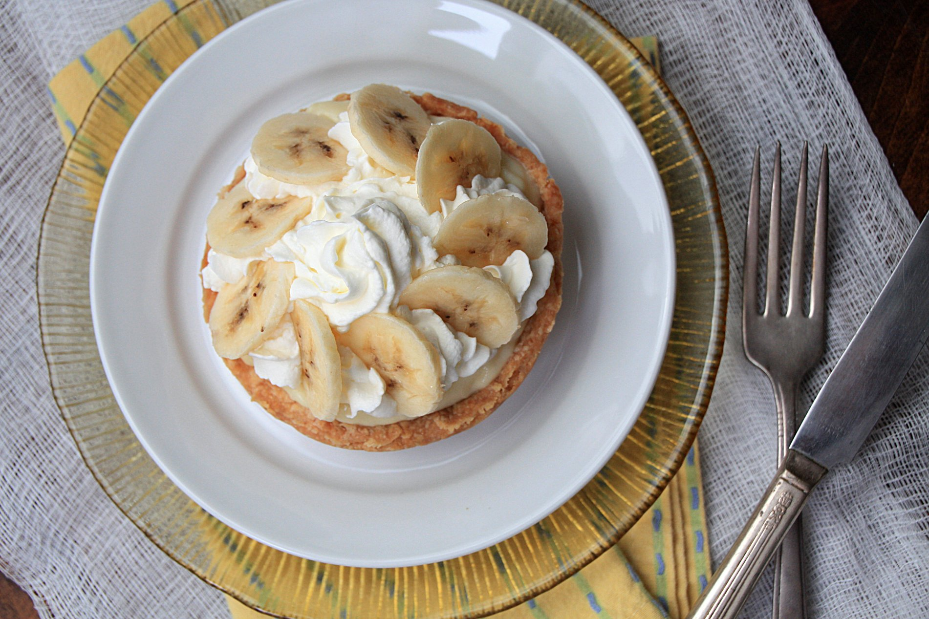 Banana Cream Tarts