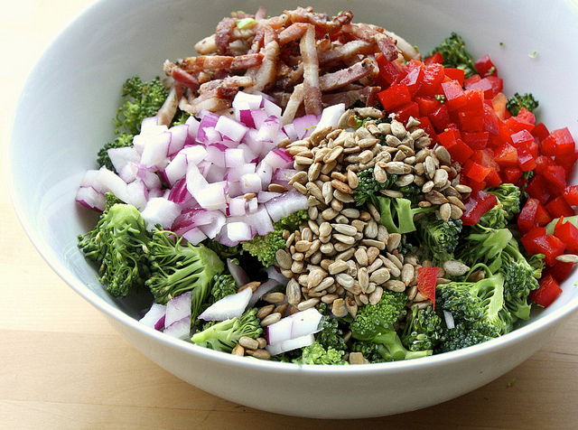 """Broccoli Salad Bowl"""