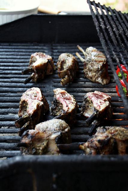"""""""grilling lamb chops"""""""