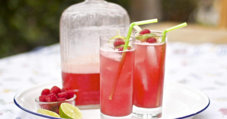 Raspberry Lime Fizz