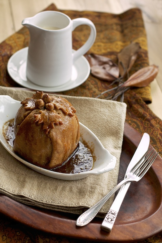 "<img alt=""Apple Dumplings with Sweet Browned Butter Sauce from Sass & Veracity""/>"