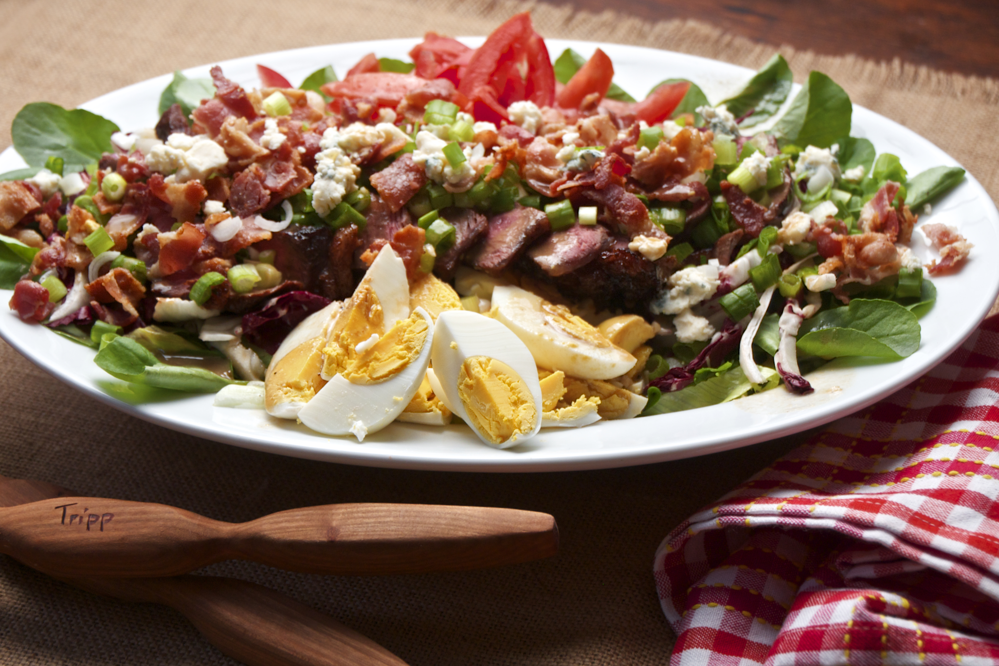 Cobb Style Steak Salad