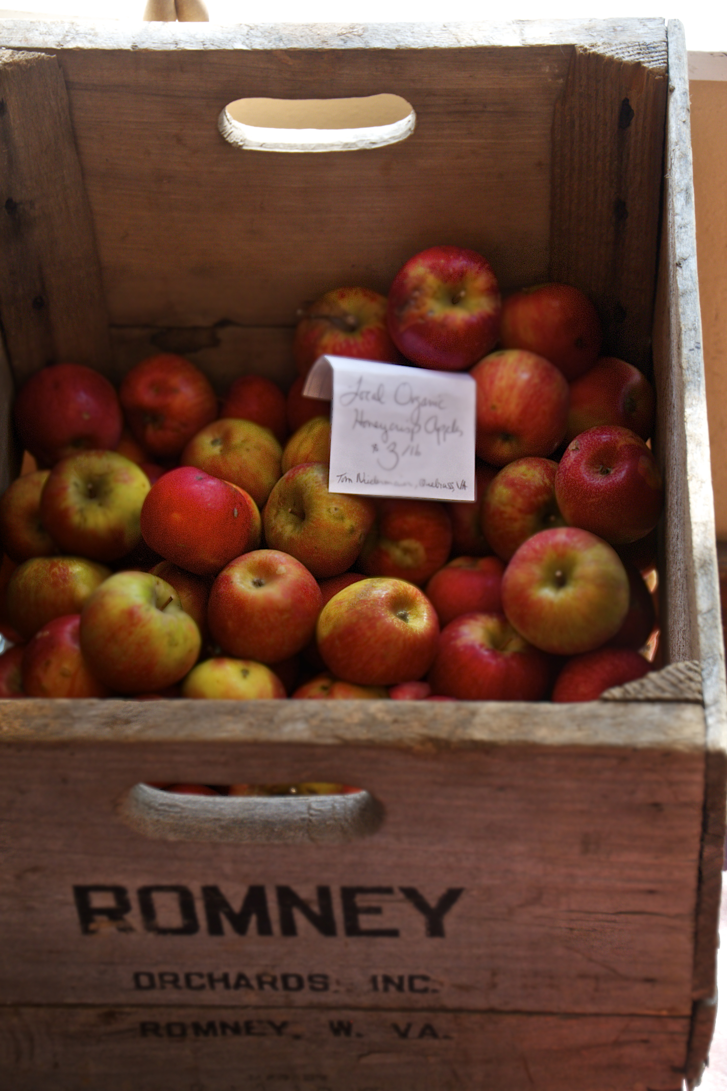 Virginia Organic Apples