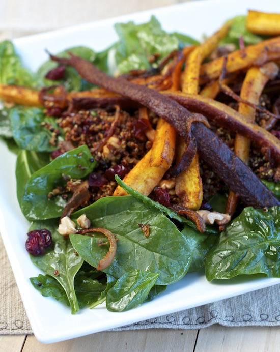 "<img alt=""roasted spicy carrot and quinoa salad""/>"