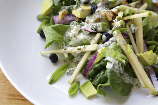 "&lt;img alt=""Green Salad with Blueberries &amp; Apples""/&gt;"