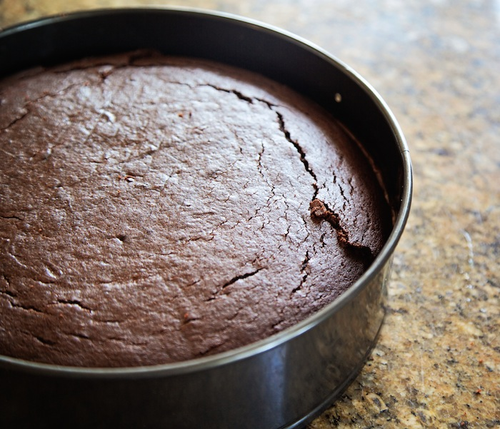 "<img alt=""Making a 4-Layer Chocolate Mousse Cake""/>"