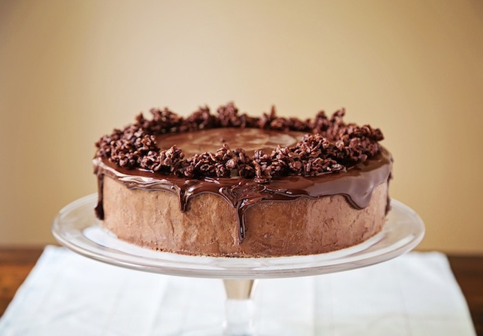 """<alt img=""""Four Layer Chocolate Mousse Cake""""/>"""