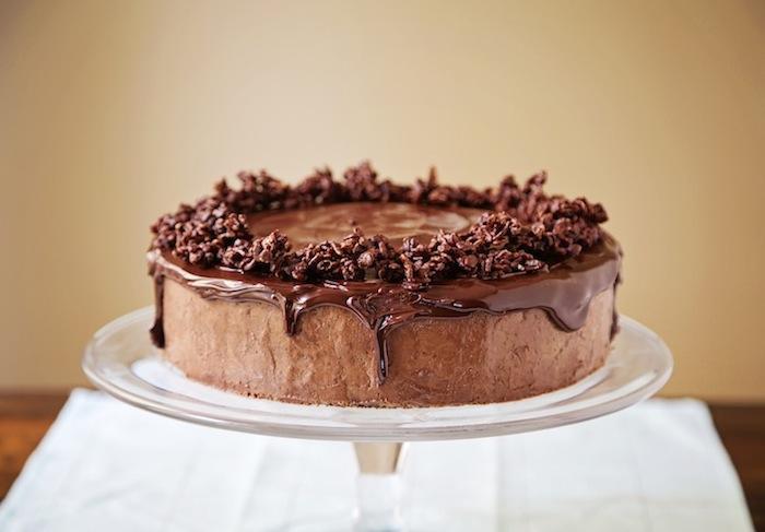 Chocolate French Mousse Cake Recipe — Dishmaps