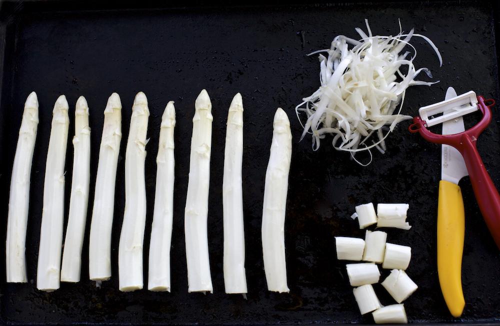 White Asparagus Prep
